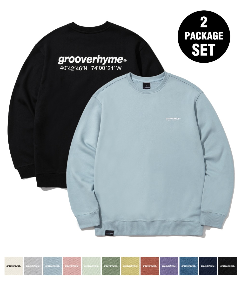 1+1 NYC LOCATION SWEAT SHIRTS (10COLOR) [LROFCTM711M]